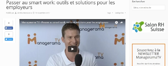 Salon RH: L'interview de Luc Jaquet sur le smart work